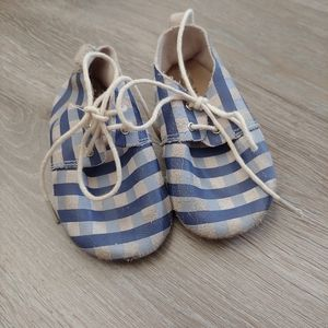 Honeysuckle Toddler Blue Plaid Madras